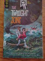 1970 The Twilight Zone Rod Serling #32 Gold Key Comics