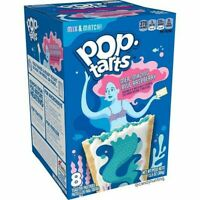 Kellogg's Pop Tarts Frosted Mer-Mazing Blue Raspberry Toaster Pastries 13.5 oz