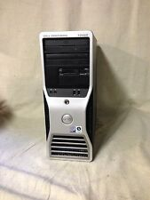 Dell Precision T3400 Workstation Core 2 Duo 2.40GHz 6GB RAM 250GB Windows 7 PC