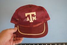 Vintage mesh Texas A & M Aggies snapback medium to large 7 1/8 to 7 5/8 USA