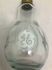 General Electric GE Glass LIGHT BULB Desk Decor Display