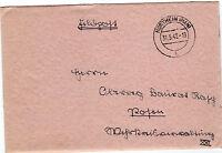 *Feldpost II. WK - 1942 * von Northeim mit Inhalt (Brief) (21)