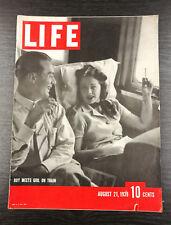 LIFE Magazine, August 21st 1939