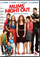 Moms' Night Out DVD (2014) Sarah Drew, Erwin (DIR) cert 12 ***NEW*** Great Value