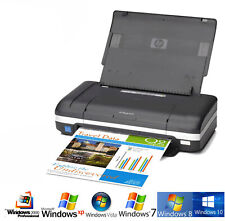 Portatile Cellulare Stampante HP Deskjet 470 USB Per Windows XP 7 8 10 Auch Casa