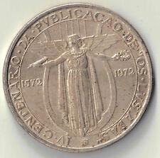 1972 PORTUGAL 50 ESCUDOS 400 ANNIVERSARY OF HERIOC EPIC 'OS LUSIADAS SILVER COIN