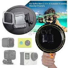 Waterproof Dome Port Cover For Gopro Hero 3/3+/4/4 Session/5 Session/Xiaomi Yi