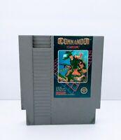 Commando Original Nintendo NES Game Tested  Working & Authentic Capcom