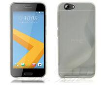 Fundas y carcasas transparentes HTC de silicona/goma para teléfonos móviles y PDAs