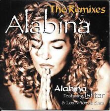 CD SINGLE 6 TITRES--ALABINA FEAT.ISHTAR--THE REMIXES--1996