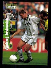 Andrzej Juskowiak Borussia Mönchengladbach Panini Card 1997 Original +A99036