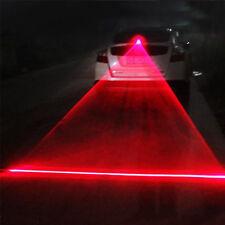 Cool Car LED Fog Driving Laser Caution Lights Rear Warn Warning Signal Taillight