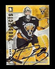 MARC-ANDRE FLEURY 2004-05 ITG Cape Breton Screaming Eagles SIGNED AUTOGRAPH RC