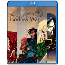 Record of Lodoss War Complete Collection Bluray Box 1-13 ENG *SUMMER SALE PRICE*