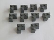 Lego 2357# 10x Ecke Winkel 2x2x1 grau neu dunkelgrau 7785 6208 8780 7879 7264