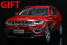 Car Model All New Jeep Compass Limited 1:18 (Red) + SMALL GIFT!!!!!!!!!