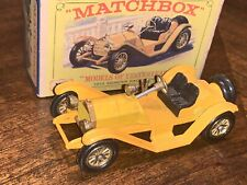 Matchbox Models of Yesteryear Y-7 1913 Mercer Raceabout  35J  MOY 7 CAR MIB  UK