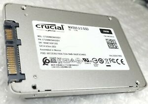 "250GB CRUCIAL MX500 2.5"" 7mm solid state drive SSD"