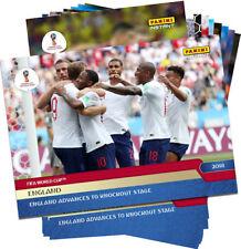 2018 ENGLAND WORLD CUP PANINI INSTANT 12-CARD TEAM SET #253-264 KANE & LINGARD +