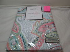 "NEW Tabitha Webb TW  Tableloth 60""x84"" Oblong ~ Damask Paisley Multi Colors"