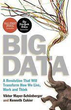 Big Data by Viktor Mayer-Schonberger, Kenneth Cukier - New Book.