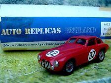 1/43 AUTO REPLICAS(England) Ferrari berlinett Handmade White Metal Model Car Kit