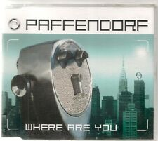 MAXI CD SINGLE 6 TITRES--PAFFENDORF--WHERE ARE YOU--1999