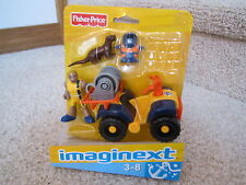 Fisher Price Imaginext ATV 4 Wheeler Figure Man Sea Otter Ocean Diving Diver Toy