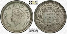 British India 1945 Bombay Half Rupee PCGS MS62 lot 0217