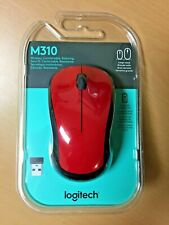 Brand New Logitech - M310 Wireless Optical Mouse - Red FREE SHIPPING