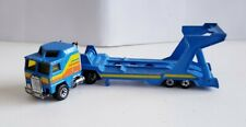 Matchbox 1992 Convoy Kenworth Car Transporter (CY-1) Blue Thailand LOOSE