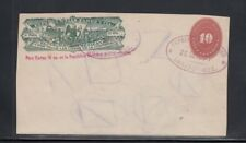 Mexico Wells Fargo Express Envelope Used from Durango