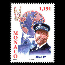 Monaco 2003 - International Institute for Peace Map Bird - Sc 2284 MNH
