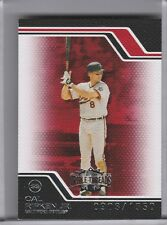 2008 TOPPS TRIPLE THREADS #240 CAL RIPKEN JR. BALTIMORE ORIOLES HOF 903/1350