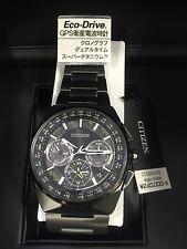 NEW CITIZEN Wrist Watch Eco-Drive SATELLITE WAVE F900 CC9004-51E Men's EMS JAPAN