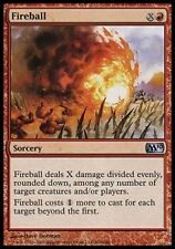 *MRM* FR 4x Boule de feu (Fireball) MTG Magic 2010-2015