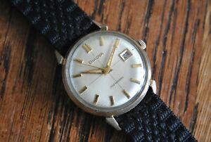 1964 Bulova Date King 'LL' Automatic 10KT RGP Vintage Watch - 11BLACD 11ALACD