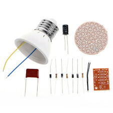 38 Energy-Saving  LEDs Lamps DIY Kits Electronic Suite