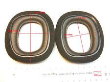 2 Ohrpolster 100x90  mm zB f.  Logitech, Sennheiser Headset