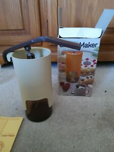 Vintage Boxed Arlington Cream Maker  With Instructions
