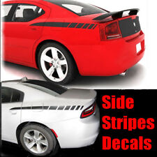 Car Hood Stripes Vinyl Decal For Dodge Charger 2006 2007 2008 2009 2010 Pro Moto