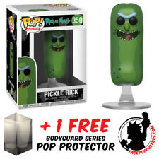 FUNKO POP RICK AND MORTY PICKLE RICK NO LIMBS VINYL FIGURE + FREE POP PROTECTOR