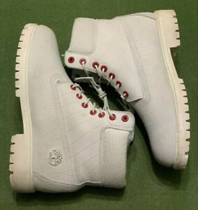 Timberland White Serpent *LIMITED RELEASE* Men's Size 10