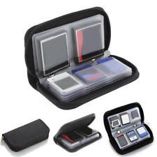 Anti-Static SD CF MMC XD Memory Card Storage Pouch Wallet Bag Holder Case 22 Pcs