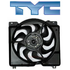 for Jeep Cherokee 1997-2001 TYC Dual Radiator & Condenser Fan
