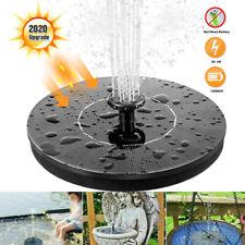1.4W Solar Powered Floating Pump Water Fountain Birdbath Home Pools Garden Decor