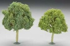 "Bachmann Scene Scapes Miniature Oak Trees 4.5"" to 5"" (2) Pc Asst 32213"
