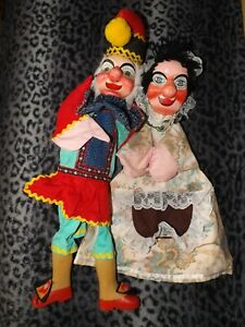 PUNCH AND JUDY PUPPETS VINTAGE & CLASSIC OLD AND ORIGINAL