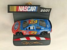 "Multicolor 3"" Jeff Gordon 2001 Nascar #24 Racecar Ornament Figurine"