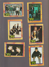 Lot of 6 New Kids on the Block NKOTB trading cards pub. 1989